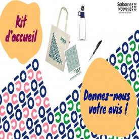 😀 Vous venez d'arriver en L1 ou en M1 à l'université ?  Pour vous souhaiter la bienvenue, la Sorbonne Nouvelle vous offre un kit d'accueil ! 💬 Donnez votre avis sur le nouveau kit d'accueil de la rentrée : https://bit.ly/3lTV7IN