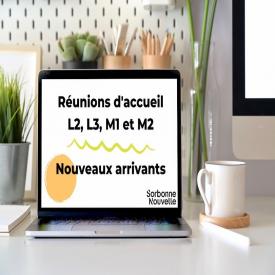 C'est le début des réunions d'accueil pour les L2, L3, M1 et M2 (nouveaux arrivants à la Sorbonne Nouvelle) ! 😃Des tutrices et tuteurs sont là pour vous guider ℹ️Des informations sur vos formations et sur la vie à l'université seront apportées 📌RDV sur le campus Censier : 13 rue Santeuil ➡️Le planning des réunions d'accueil L2, L3, M1 et M2 et le planning des réunions spécifiques sont disponibles directement sur le site de l'université ou via: https://bit.ly/3hllzc et https://bit.ly/3jTOE0V #sorbonnenouvelle